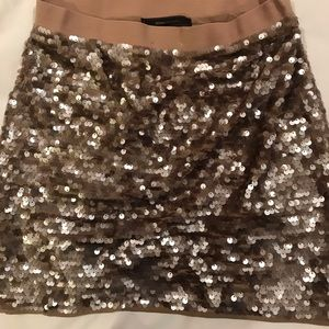 BCBG sequin skirt